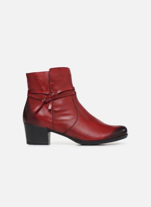 Bottines et boots Remonte Draf Rouge vue derrière