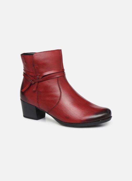 Ankelstøvler Remonte Draf Rød detaljeret billede af skoene