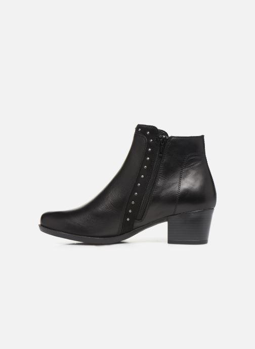 Bottines et boots Remonte Léa Noir vue face