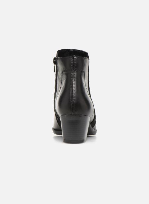 Bottines et boots Remonte Léa Noir vue droite