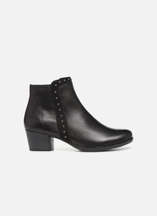 Bottines et boots Remonte Léa Noir vue derrière