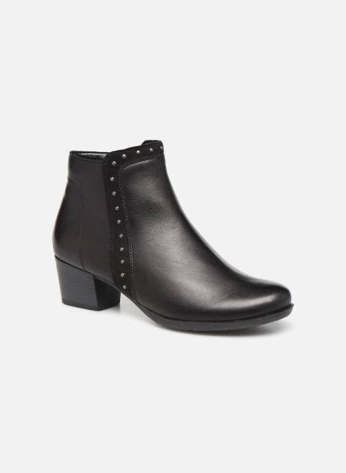 Ankle boots Remonte Léa Black detailed view/ Pair view