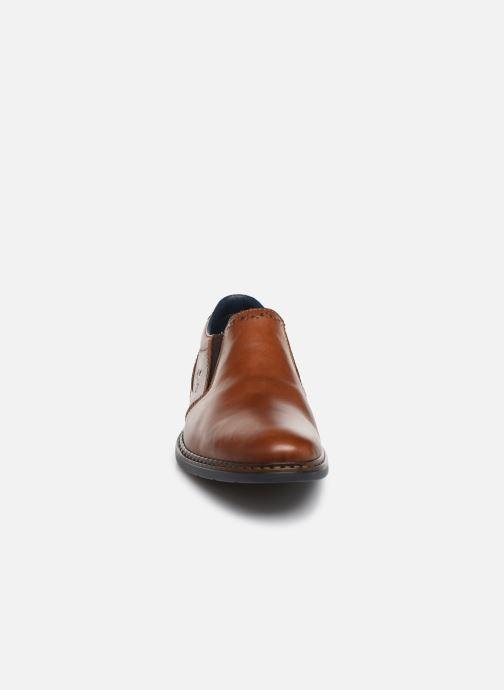 Mocassins Rieker Dury Marron vue portées chaussures