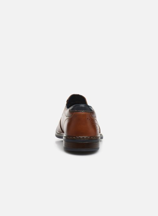 Loafers Rieker Dury Brown view from the right