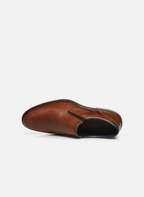 Loafers Rieker Dury Brown view from the left