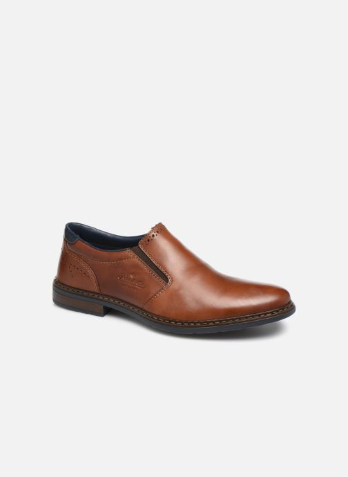 Loafers Rieker Dury Brown detailed view/ Pair view
