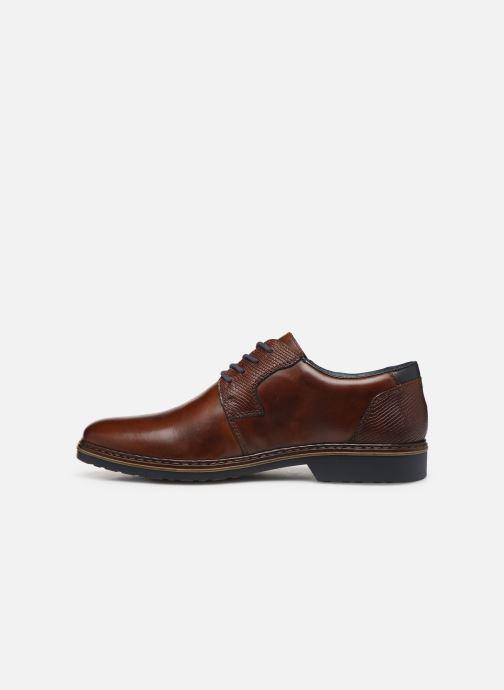 Zapatos con cordones Rieker Alban Marrón vista de frente