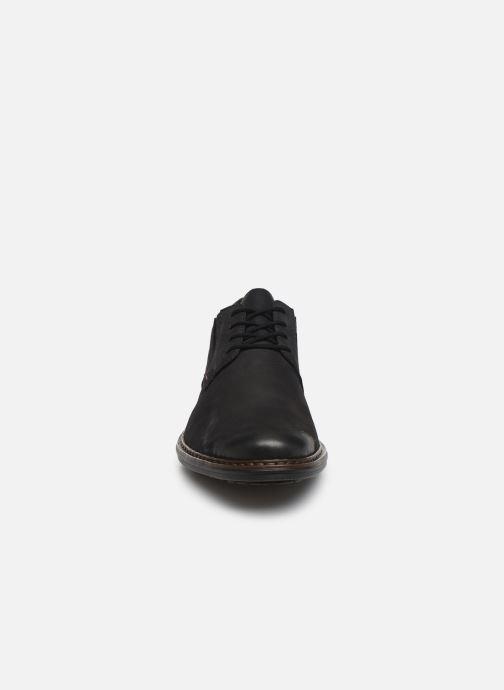 Chaussures à lacets Rieker Rim Noir vue portées chaussures