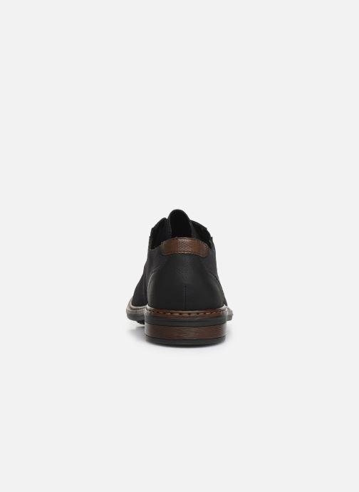 Chaussures à lacets Rieker Rim Noir vue droite