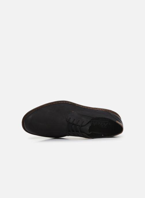 Chaussures à lacets Rieker Rim Noir vue gauche