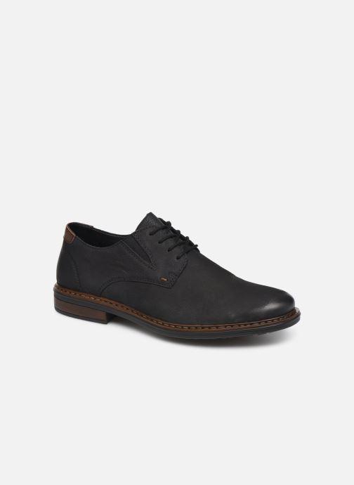 Chaussures à lacets Rieker Rim Noir vue détail/paire