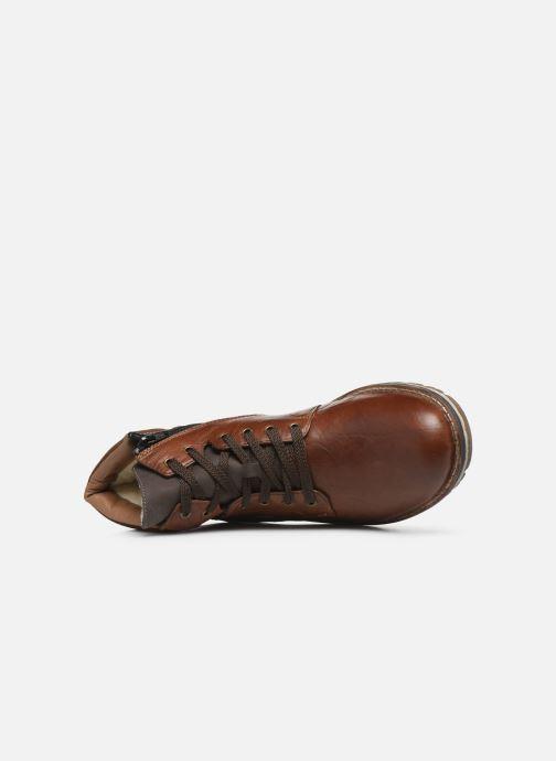 Bottines et boots Rieker Steph Marron vue gauche