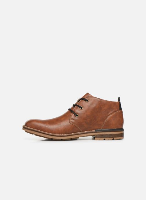 Ankle boots Rieker Loan Brown front view