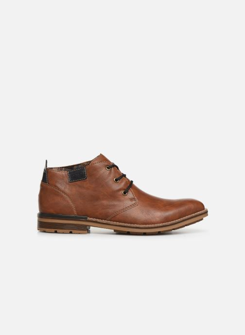 Ankle boots Rieker Loan Brown back view
