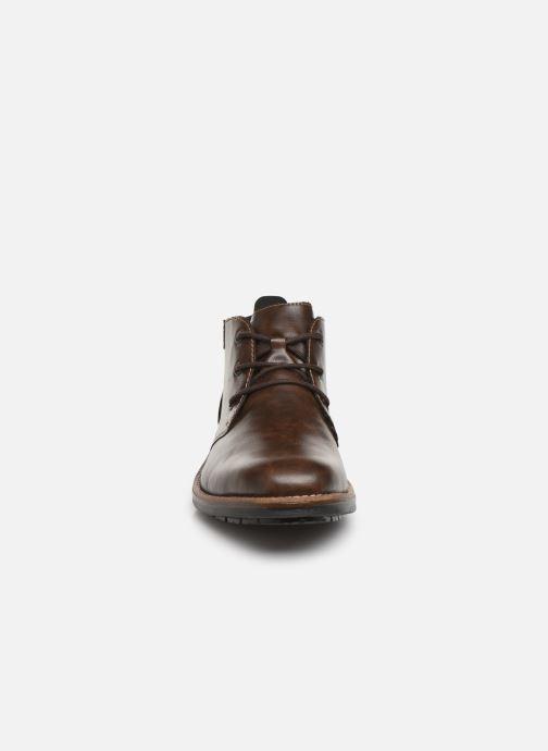Boots en enkellaarsjes Rieker Loan Bruin model