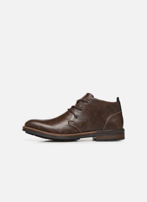 Boots en enkellaarsjes Rieker Loan Bruin voorkant