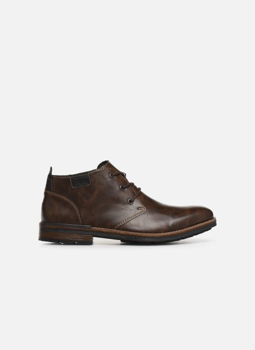 Boots en enkellaarsjes Rieker Loan Bruin achterkant