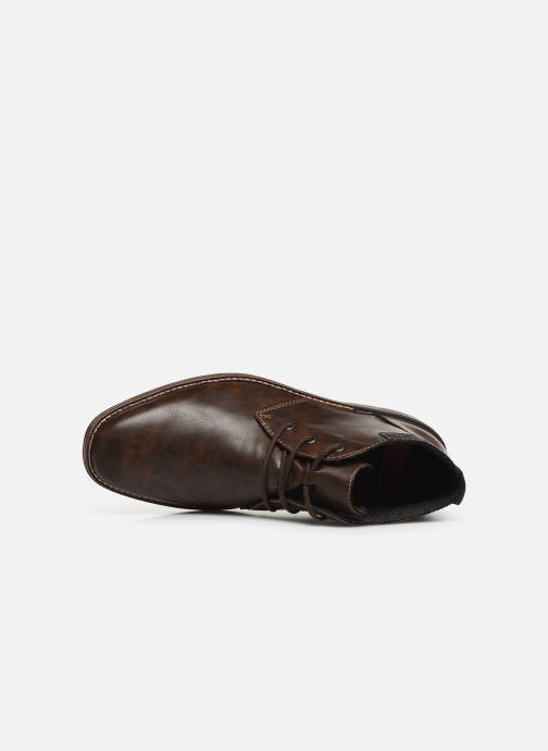 Boots en enkellaarsjes Rieker Loan Bruin links