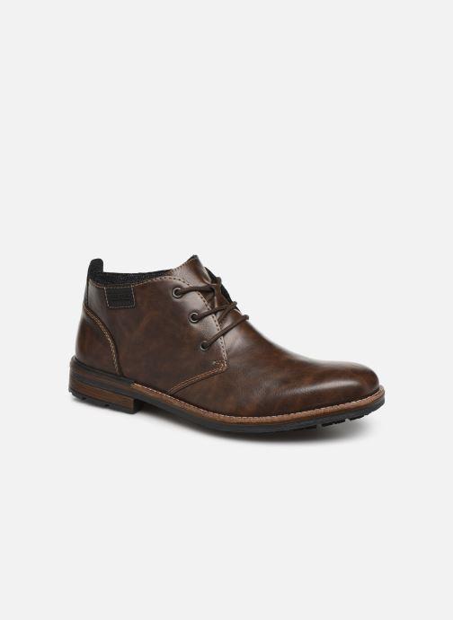 Boots en enkellaarsjes Rieker Loan Bruin detail
