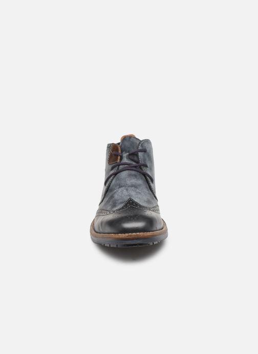 Bottines et boots Rieker Niro Bleu vue portées chaussures