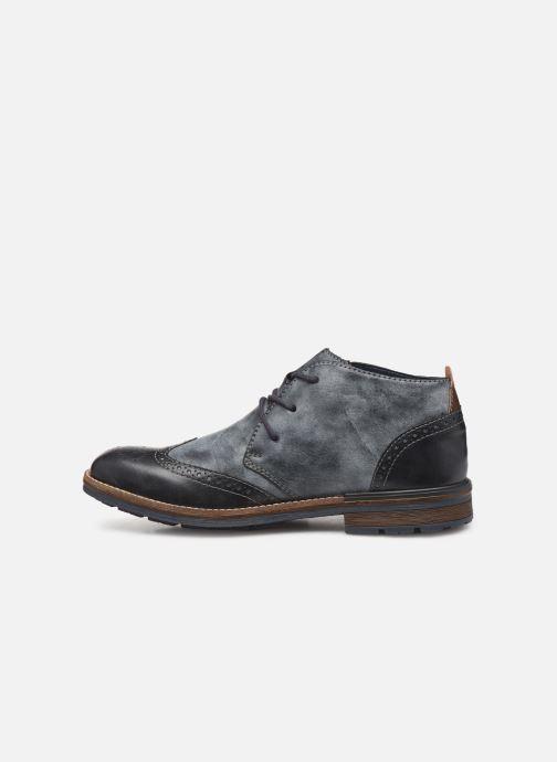 Bottines et boots Rieker Niro Bleu vue face