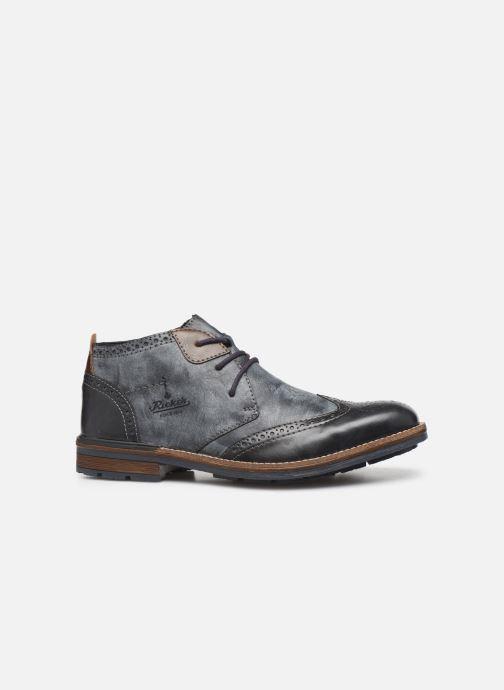 Bottines et boots Rieker Niro Bleu vue derrière