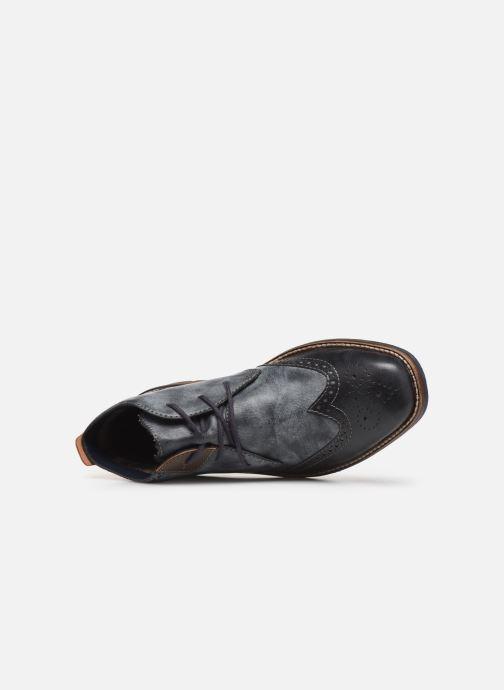 Bottines et boots Rieker Niro Bleu vue gauche