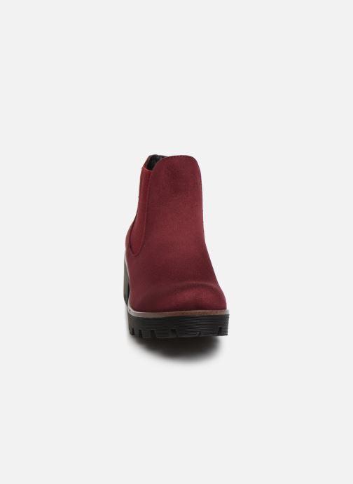 Bottines et boots Rieker Helene Bordeaux vue portées chaussures