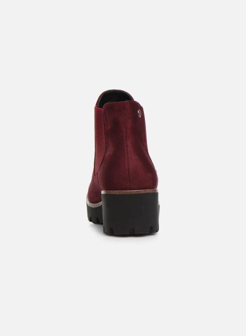 Bottines et boots Rieker Helene Bordeaux vue droite