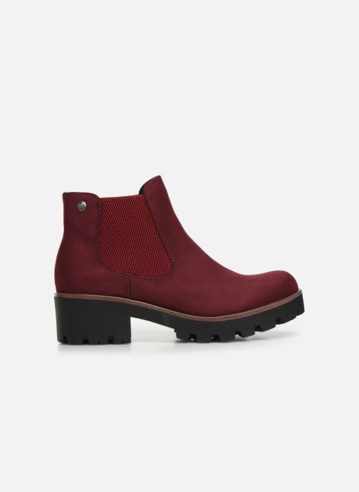 Bottines et boots Rieker Helene Bordeaux vue derrière