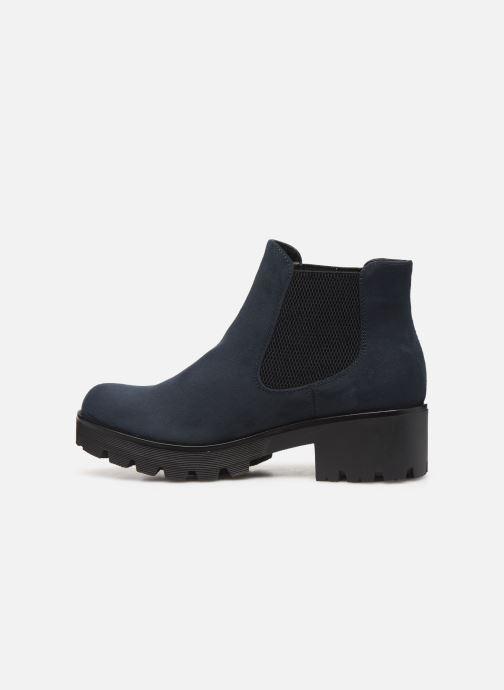 Bottines et boots Rieker Helene Bleu vue face