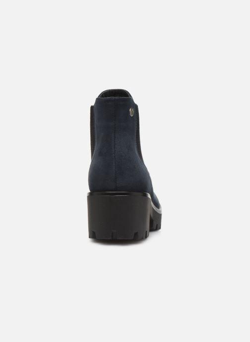 Bottines et boots Rieker Helene Bleu vue droite