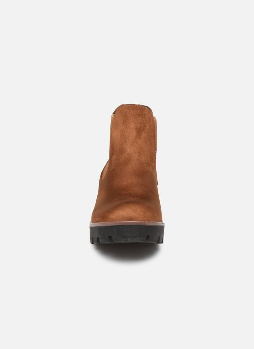 Bottines et boots Rieker Helene Marron vue portées chaussures