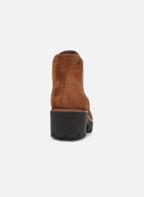 Bottines et boots Rieker Helene Marron vue droite