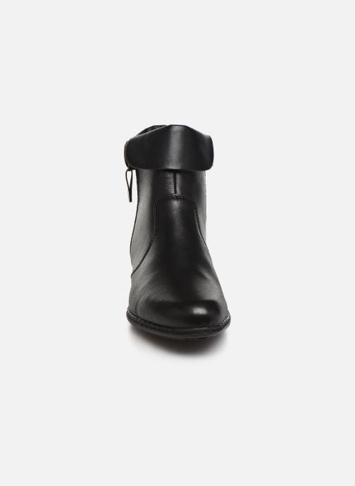 Ankle boots Rieker Bari Black model view