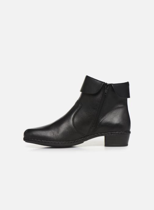 Bottines et boots Rieker Bari Noir vue face