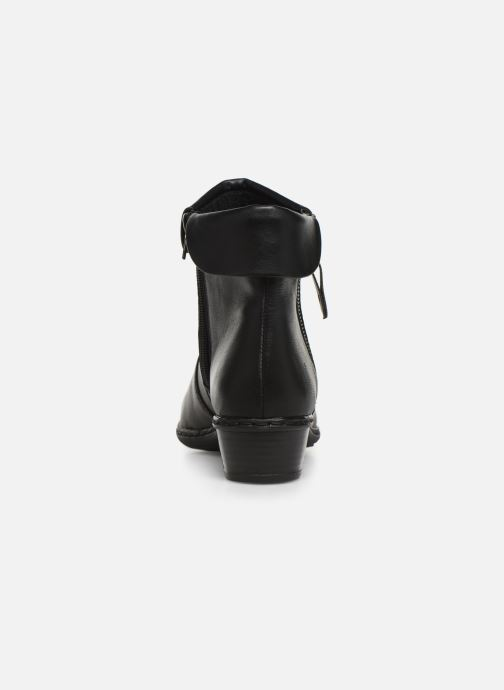 Ankle boots Rieker Bari Black view from the right