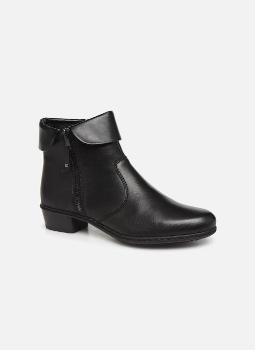 Bottines et boots Rieker Bari Noir vue détail/paire