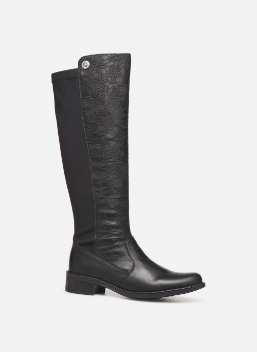Støvler & gummistøvler Rieker Hori Sort detaljeret billede af skoene