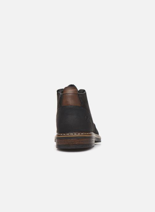 Bottines et boots Rieker Noé Noir vue droite