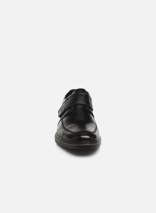 Chaussures à scratch Rieker Léo Noir vue portées chaussures