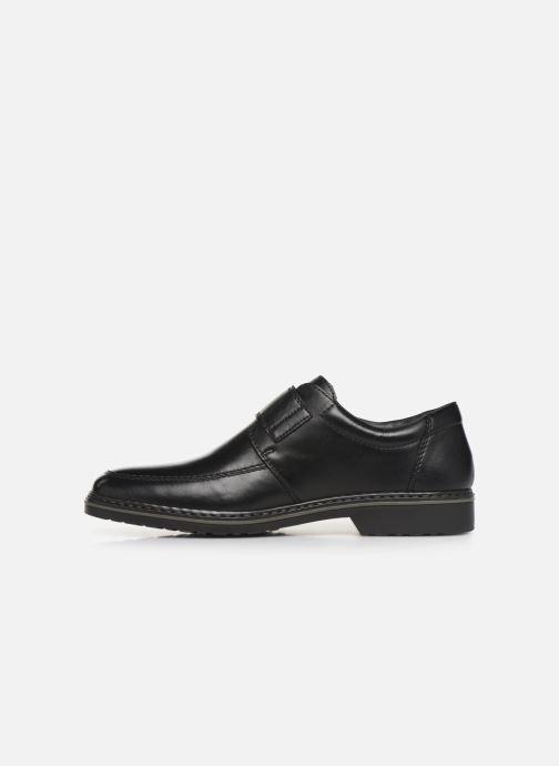 Chaussures à scratch Rieker Léo Noir vue face