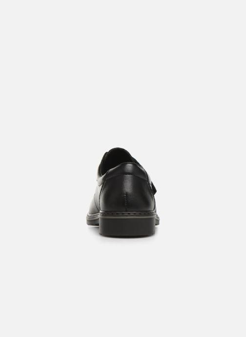 Chaussures à scratch Rieker Léo Noir vue droite