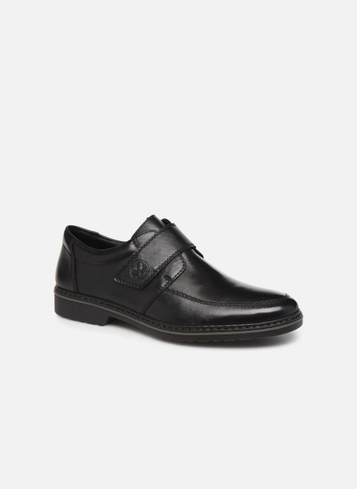 Chaussures à scratch Rieker Léo Noir vue détail/paire