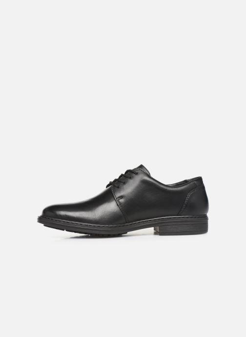 Chaussures à lacets Rieker Nel Noir vue face