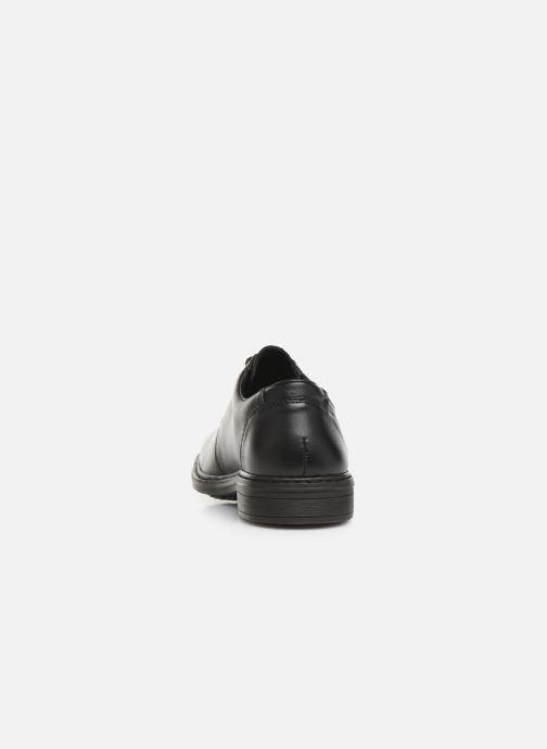 Chaussures à lacets Rieker Nel Noir vue droite