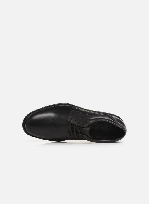 Chaussures à lacets Rieker Nel Noir vue gauche