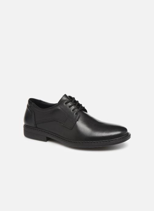 Zapatos con cordones Rieker Nel Negro vista de detalle / par