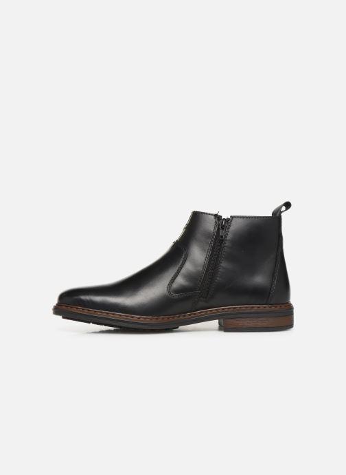 Bottines et boots Rieker Phil Noir vue face