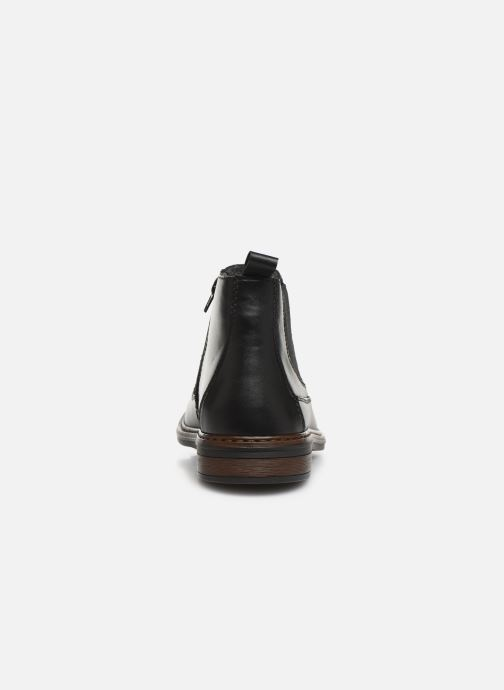 Ankle boots Rieker Phil Black view from the right